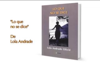 Booktrailer de Lo que no se dice, de Lola Andrade