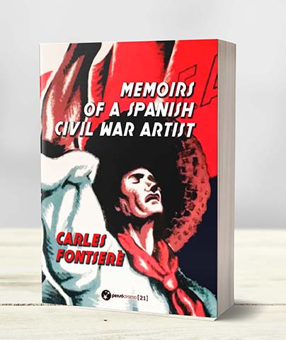 "Publicación del libro ""Memoirs of a Spanish Civil War Artist""."