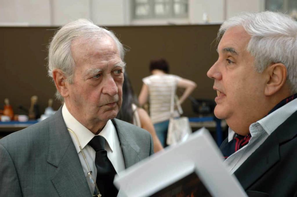 Manuel de Cendra y Aparicio con Nikita Harwich