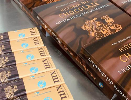 Nikita Harwich en el Museu de la Xocolata
