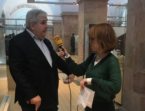 Entrevista a Nikita Harwich en Catalunya Radio