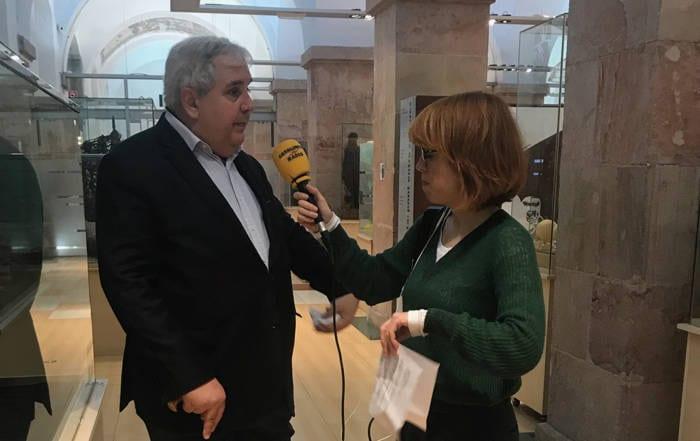 Nikita Harwich entrevista Catalunya Radio
