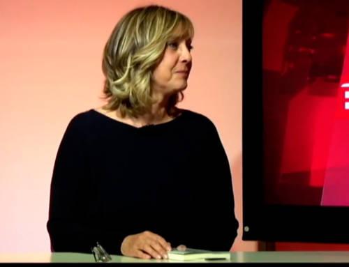 Laura Geli en Banyoles Televisió