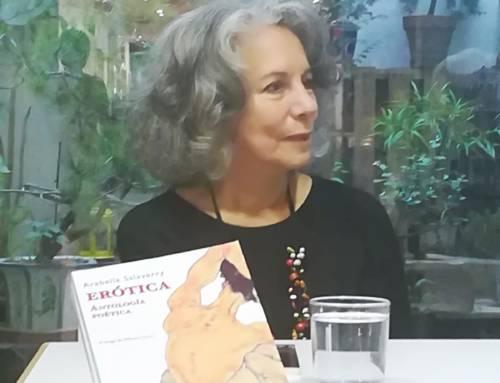 Arabella Salaverry presentó sus poemas en Barcelona