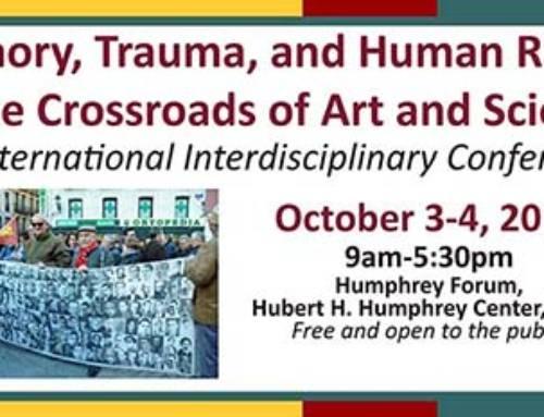Memoria, trauma y derechos humanos en la encrucijada de arte y ciencia